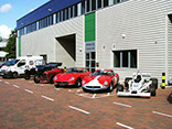 Factory View: Williams F1, Ferrari 275 GTB2 1967, Ferrari 250 TDF 1957,Alfa Romeo Monoposto Type B P3, Dodge Tourer 1918